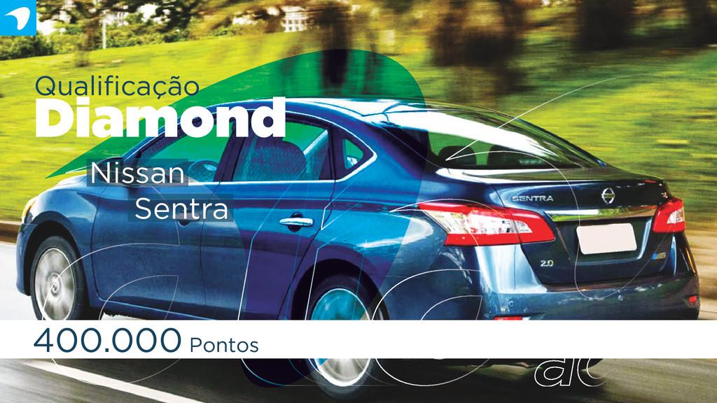 Qualificação Diamond 400.000 Pontos Nissan Sentra