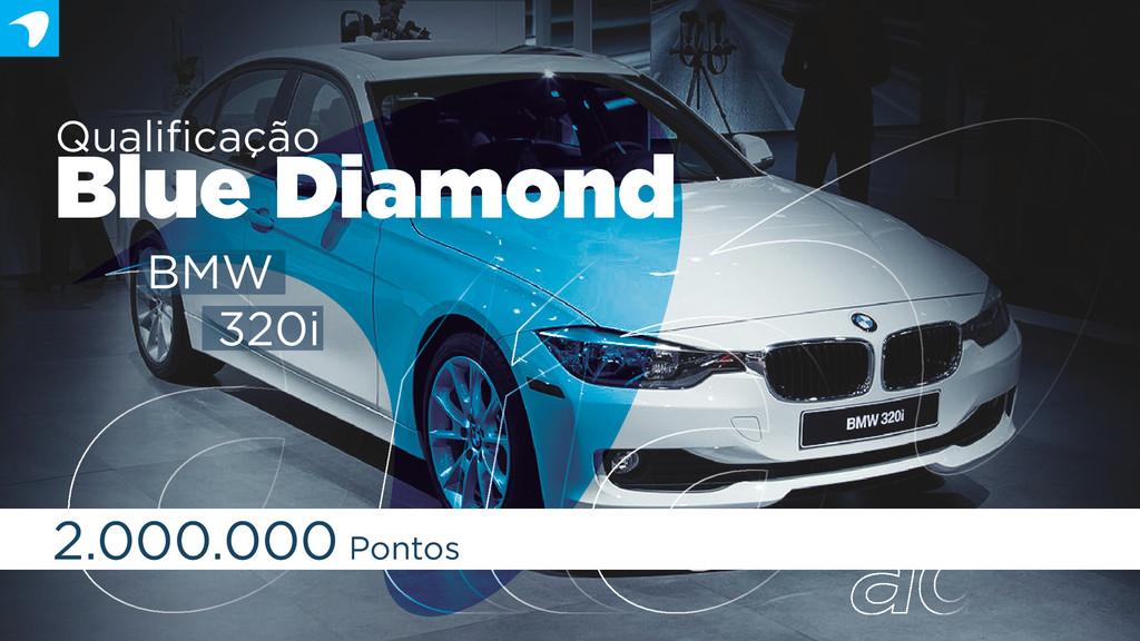 Qualificação Blue Diamond 2.000.000 Pontos BMW 3...