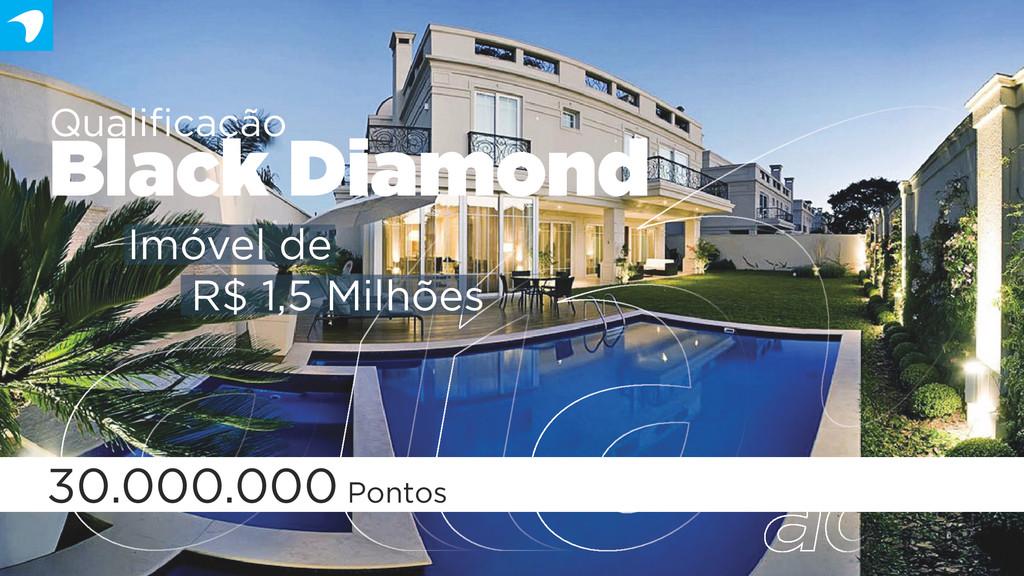 Qualificação Black Diamond 30.000.000 Pontos Imó...