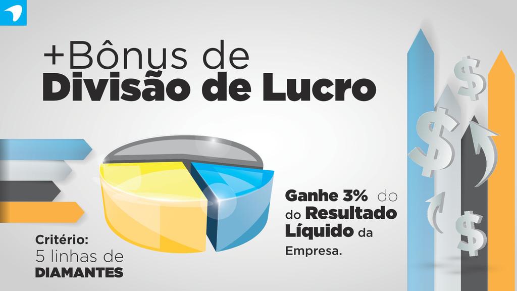+Bônus de Divisão de Lucro Ganhe 3% do do Resul...