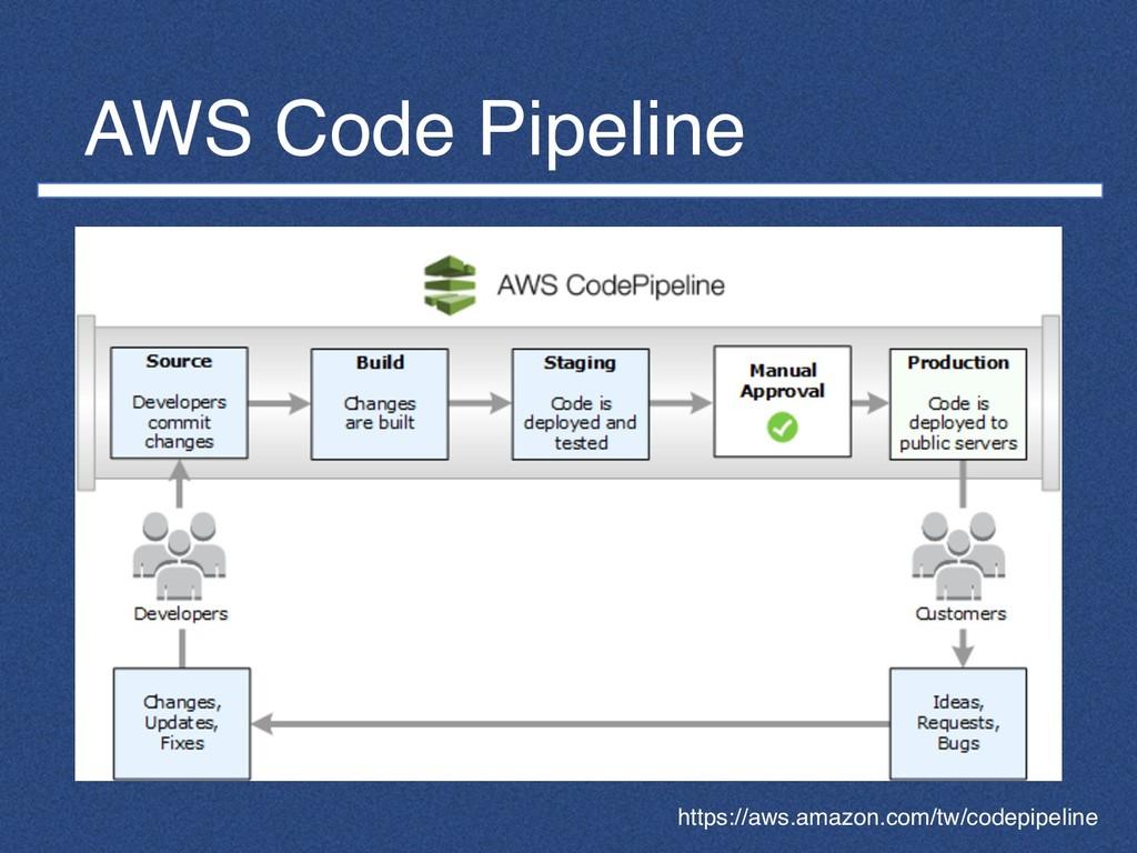 AWS Code Pipeline https://aws.amazon.com/tw/cod...