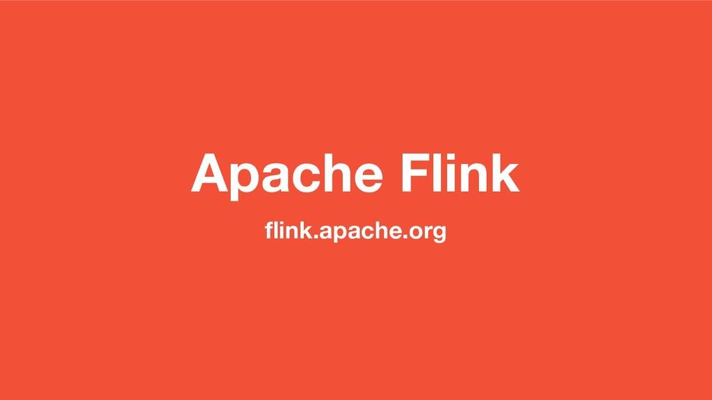 Apache Flink flink.apache.org
