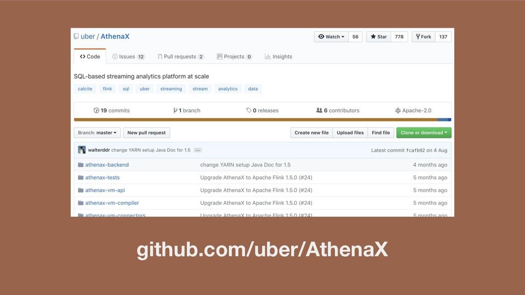 github.com/uber/AthenaX