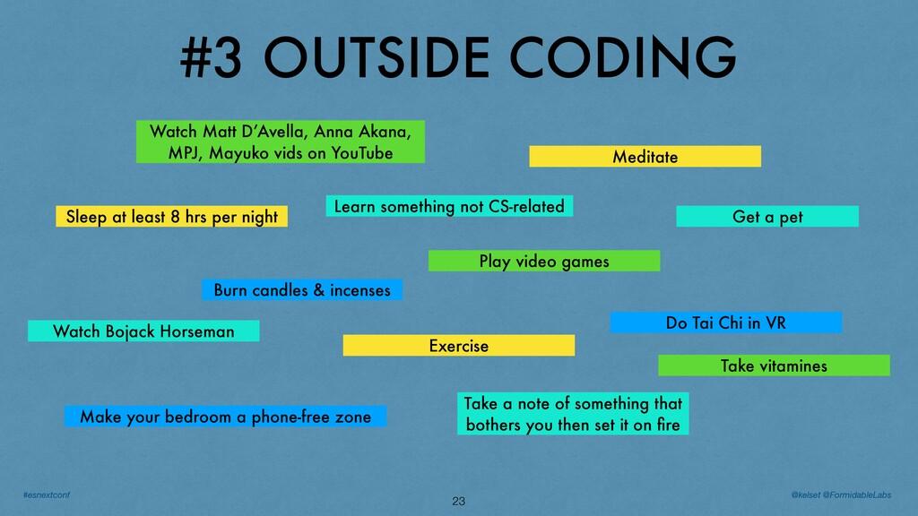 #3 OUTSIDE CODING 23 Do Tai Chi in VR Watch Boj...