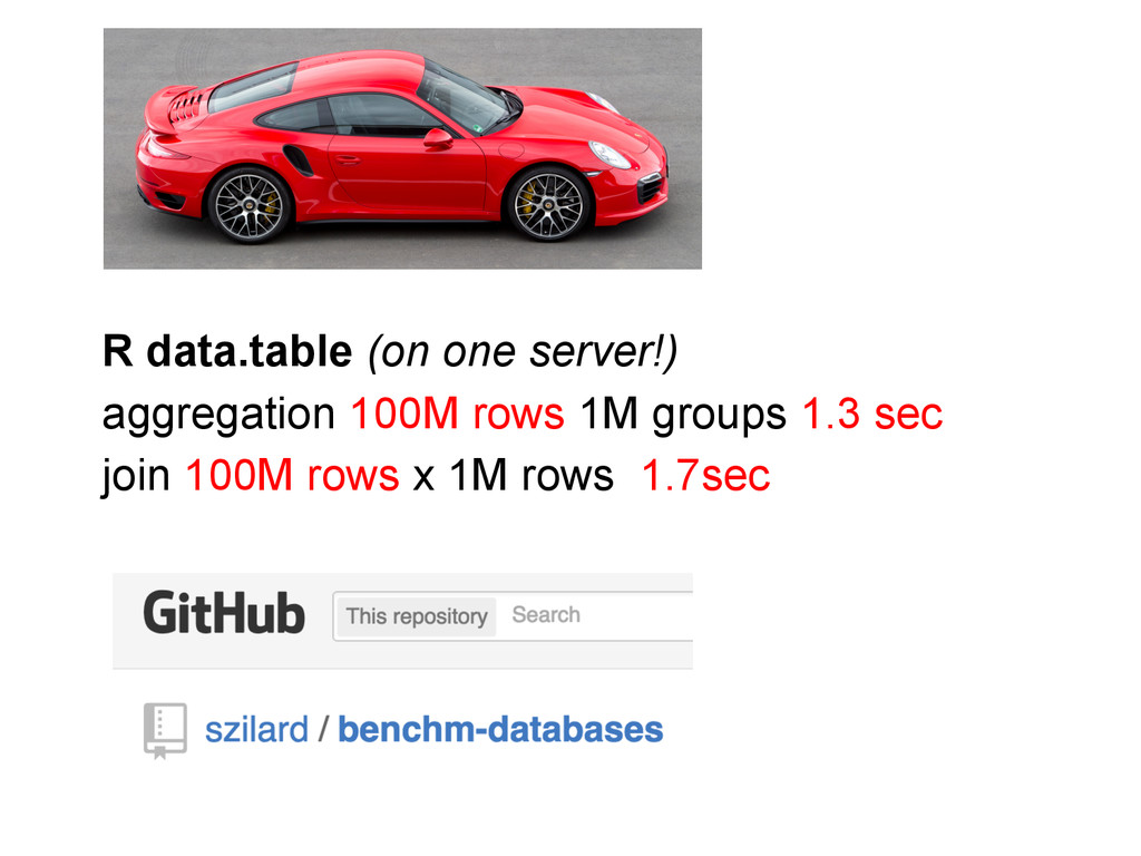 R data.table (on one server!) aggregation 100M ...