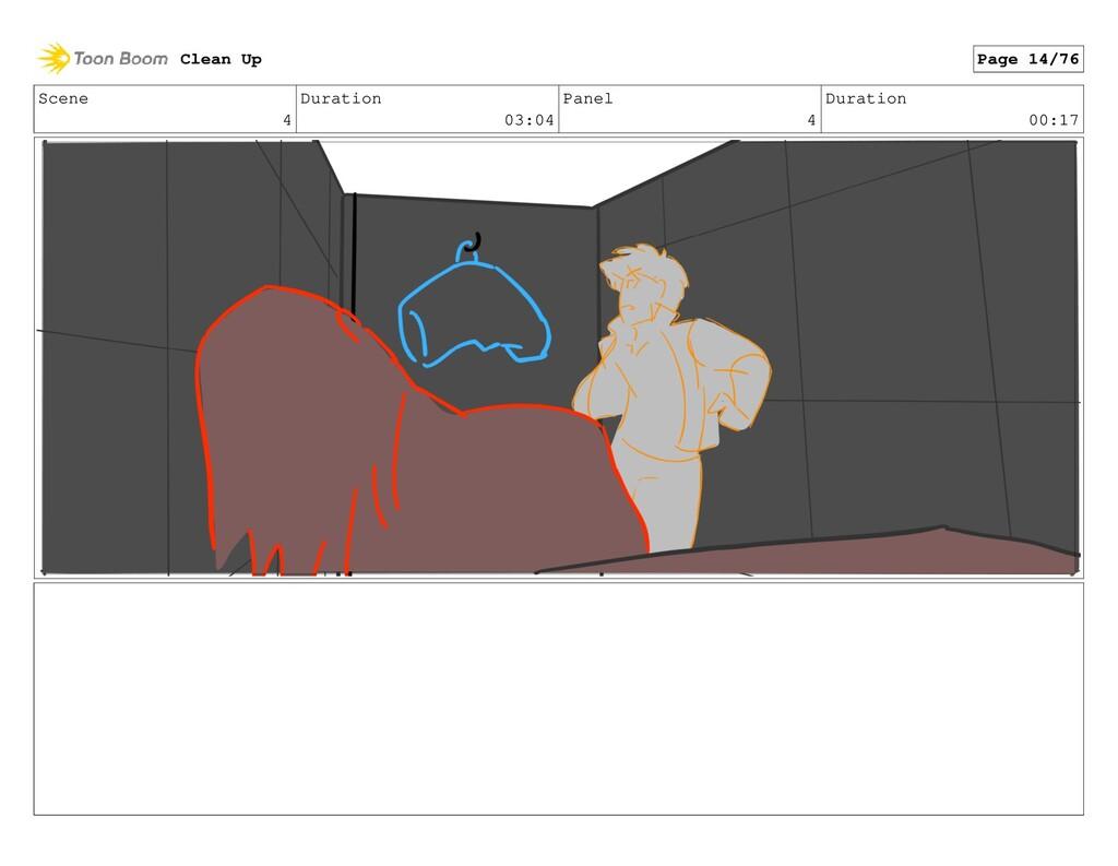 Scene 4 Duration 03:04 Panel 4 Duration 00:17 C...