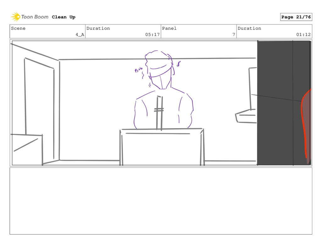 Scene 4_A Duration 05:17 Panel 7 Duration 01:12...