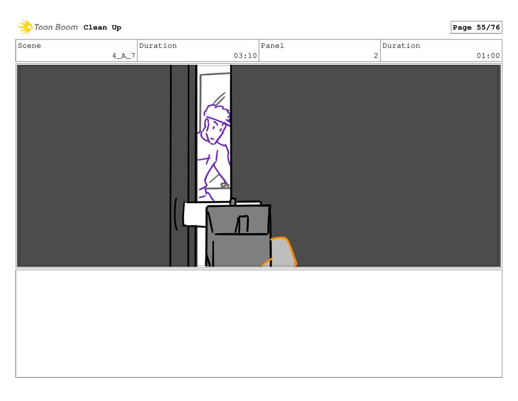 Scene 4_A_7 Duration 03:10 Panel 2 Duration 01:...