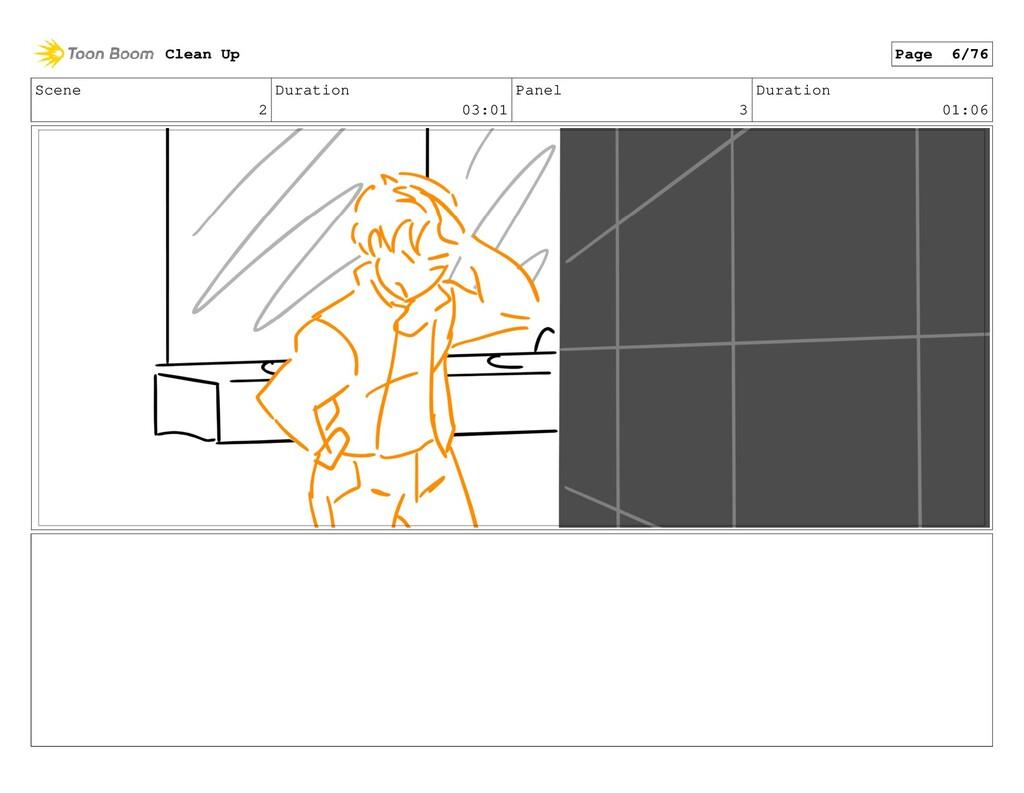 Scene 2 Duration 03:01 Panel 3 Duration 01:06 C...