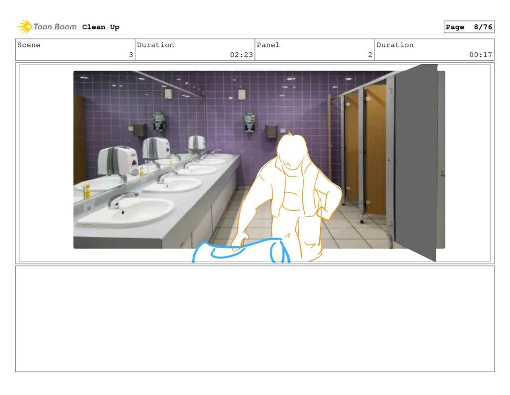 Scene 3 Duration 02:23 Panel 2 Duration 00:17 C...