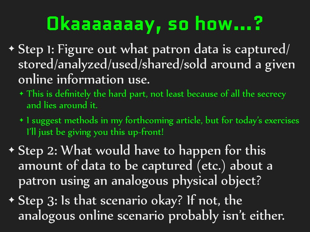 Okaaaaaaay, so how…? ✦ Step 1: Figure out what ...