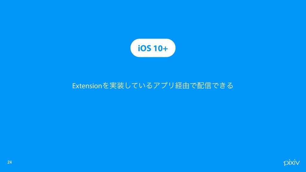 iOS 10+ ExtensionΛ࣮͍ͯ͠ΔΞϓϦܦ༝Ͱ৴Ͱ͖Δ