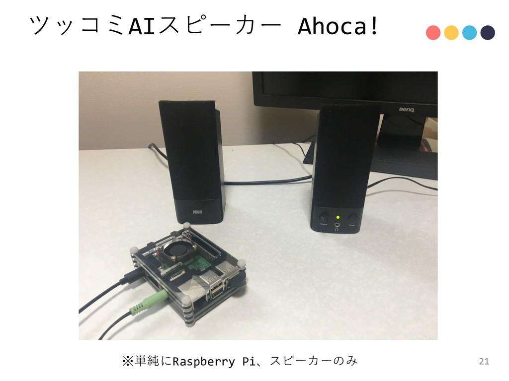 AI Ahoca! 21 Raspberry Pi