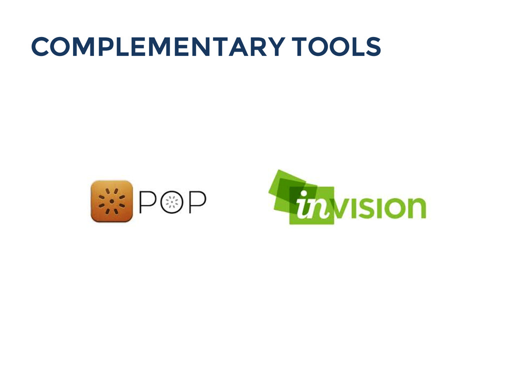 COMPLEMENTARY TOOLS