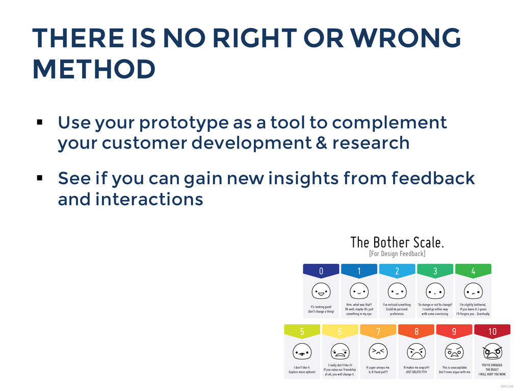 THERE IS NO RIGHT OR WRONG METHOD § Use your ...