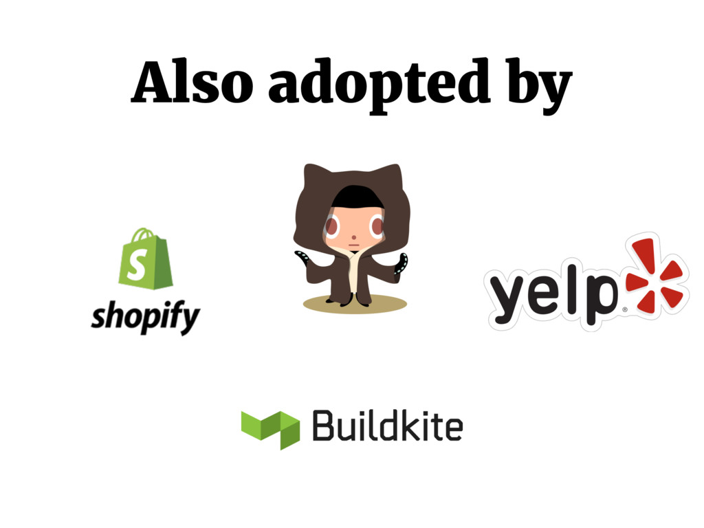 Also adopted by