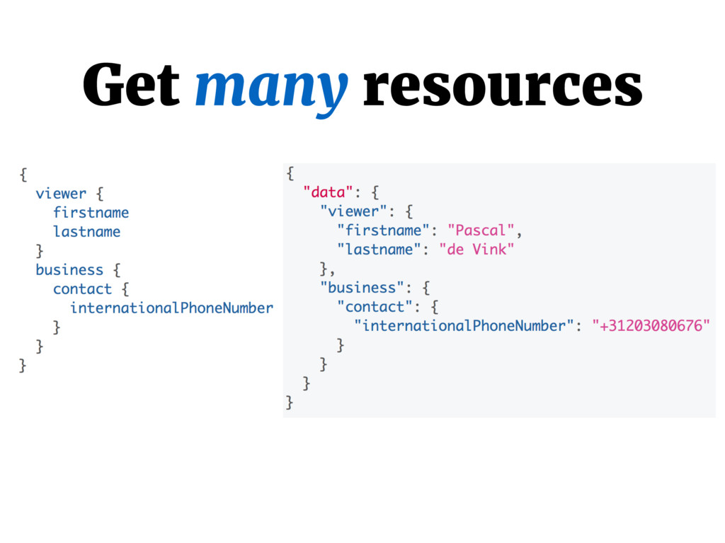 Get many resources