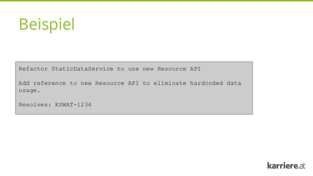 Beispiel Refactor StaticDataService to use new ...