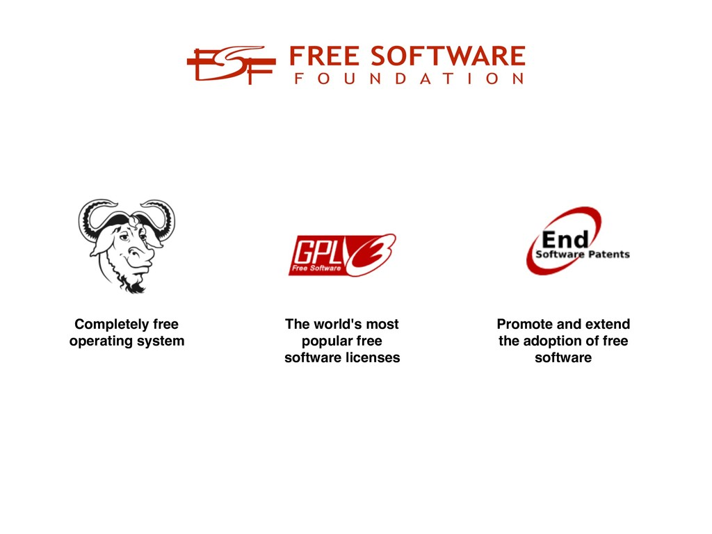 Completely free operating system The world's mo...