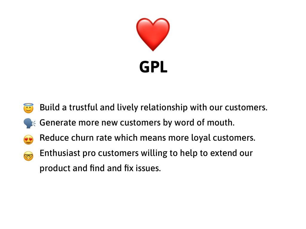 Build a trustful and lively relationship with o...