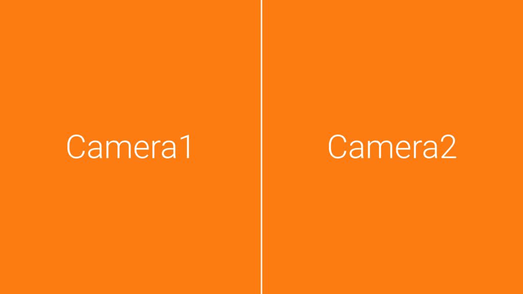 Camera1 Camera2