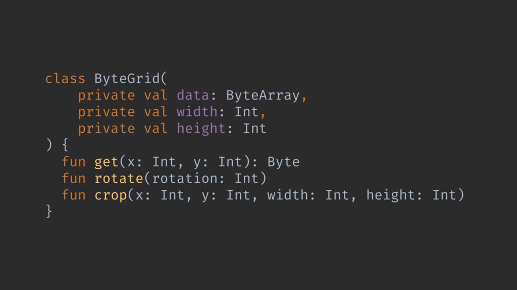 class ByteGrid( private val data: ByteArray, pr...