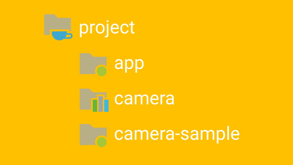 project app camera camera-sample