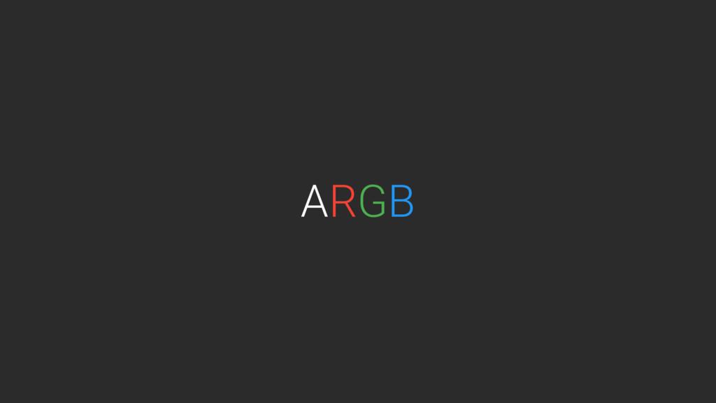 RGB A