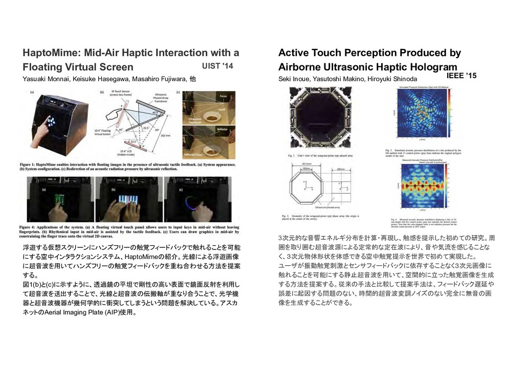 HaptoMime: Mid-Air Haptic Interaction with a Fl...