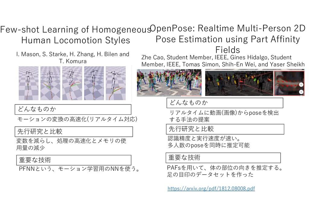 Few-shot Learning of Homogeneous Human Locomoti...