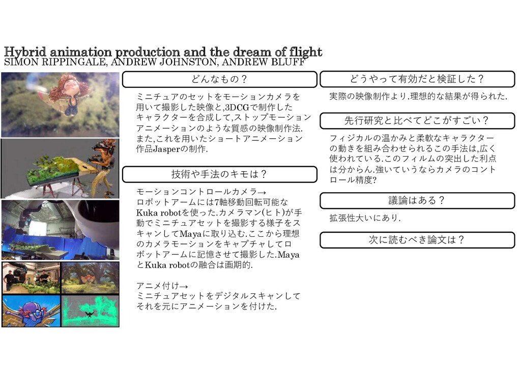 Hybrid animation production and the dream of fl...