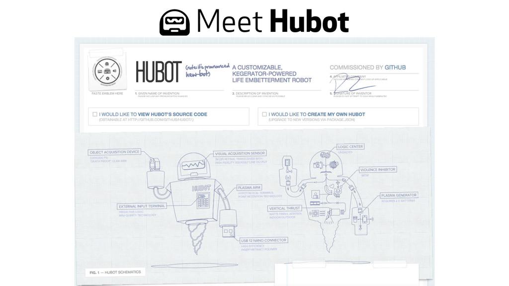 * Meet Hubot
