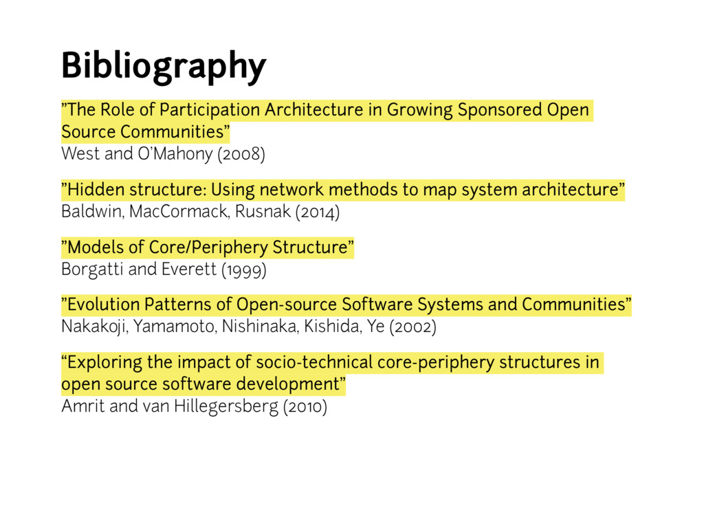 "Bibliography • ""The Role of Participation Archi..."