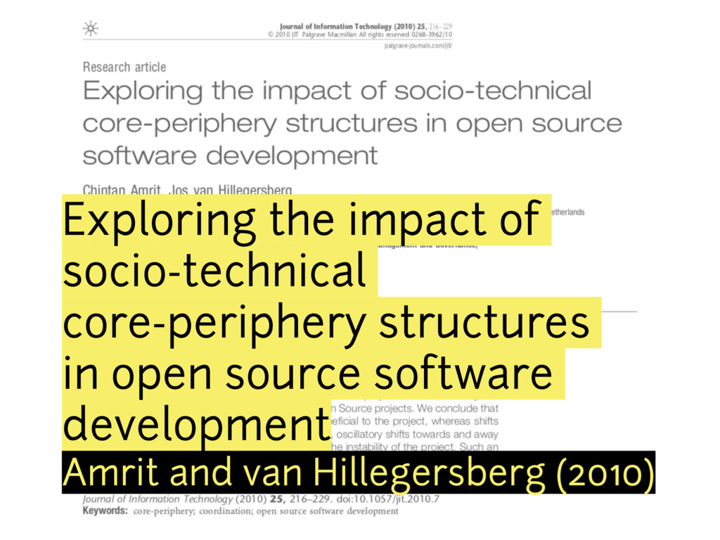 Exploring the impact of socio-technical core-pe...