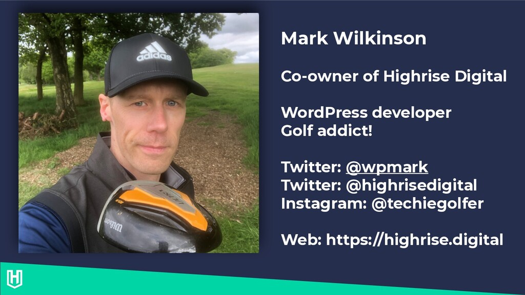 Mark Wilkinson Co-owner of Highrise Digital Wor...