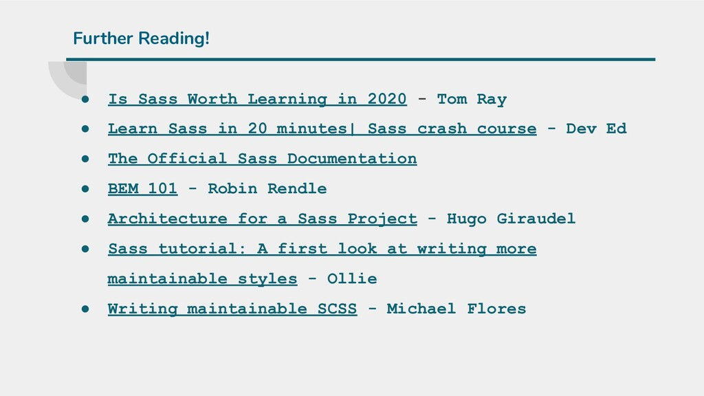 ● Is Sass Worth Learning in 2020 - Tom Ray ● Le...