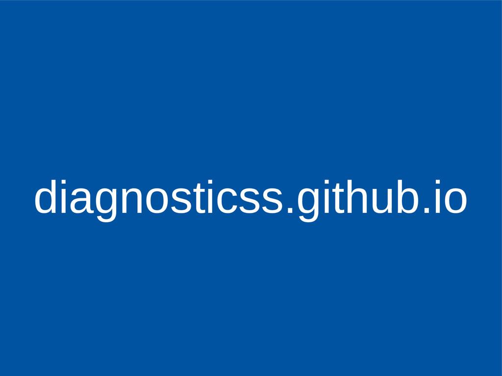 diagnosticss.github.io