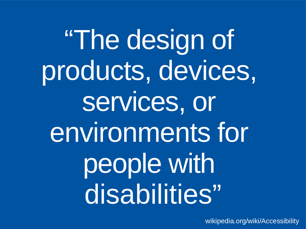 """The design of products, devices, services, or ..."