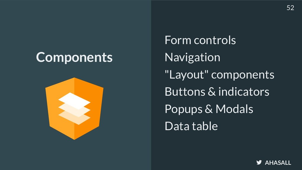 """AHASALL Form controls Navigation """"Layout"""" compo..."""