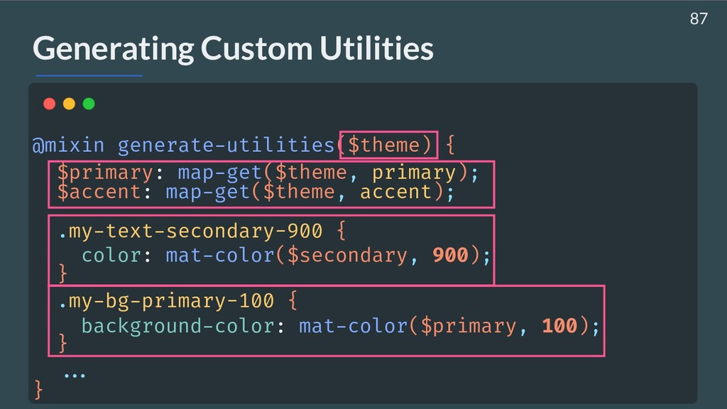 AHASALL Generating Custom Utilities @mixin gene...