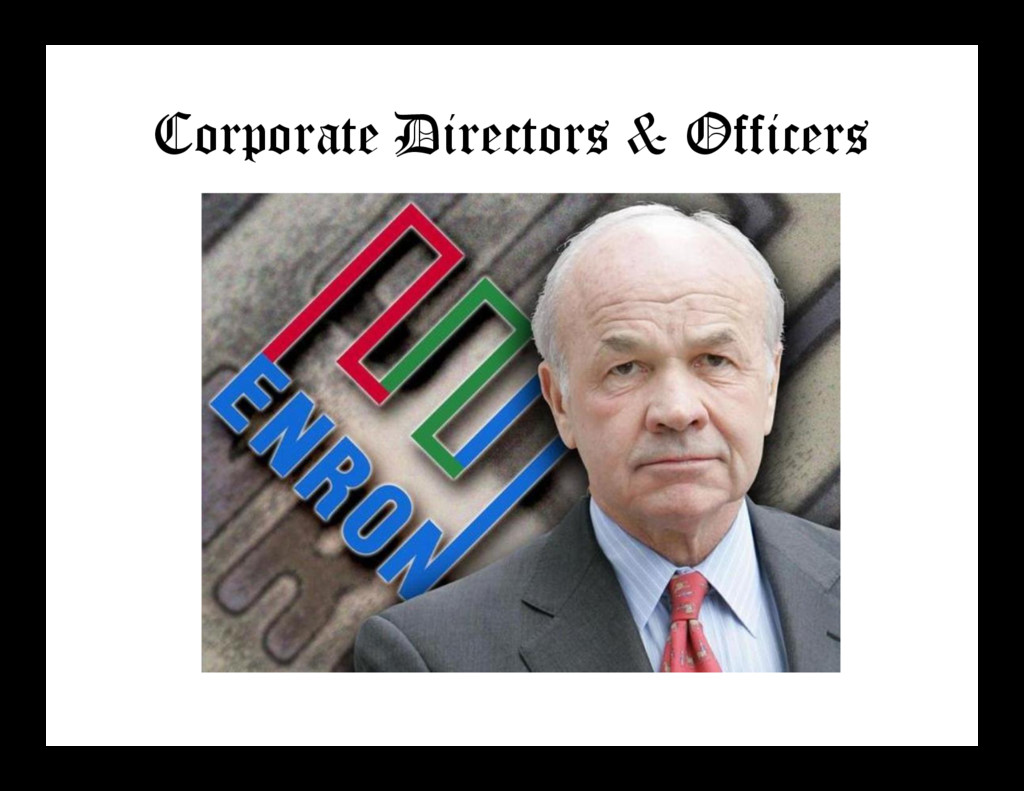 Corporate Directors & Officers