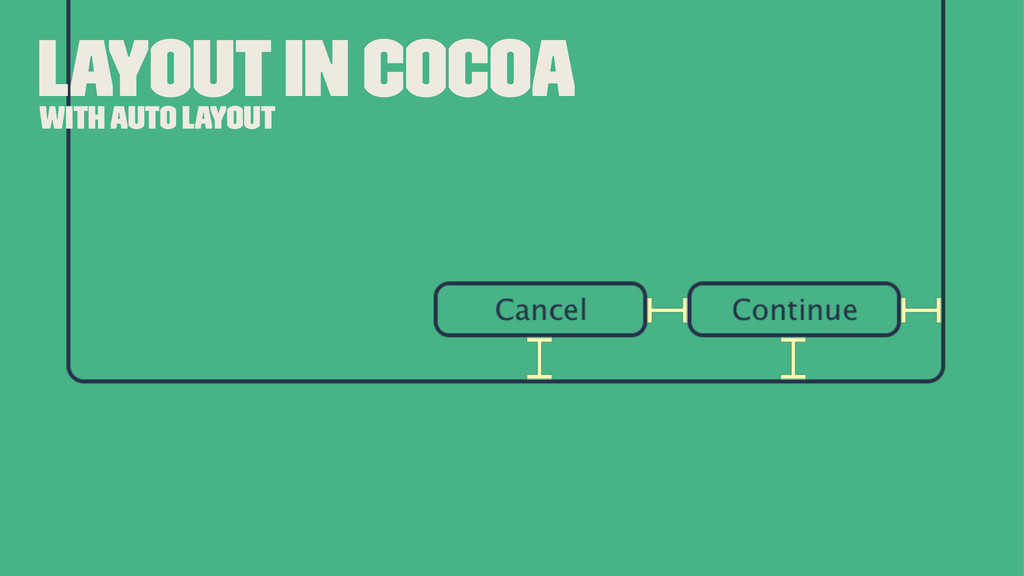 Layout In Cocoa With Auto Layout