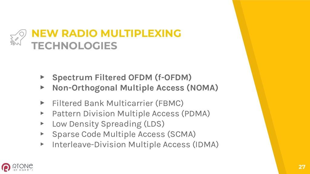 ▸ Filtered Bank Multicarrier (FBMC) ▸ Pattern D...