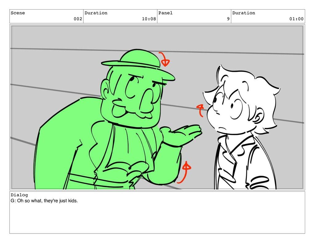 Scene 002 Duration 10:08 Panel 9 Duration 01:00...