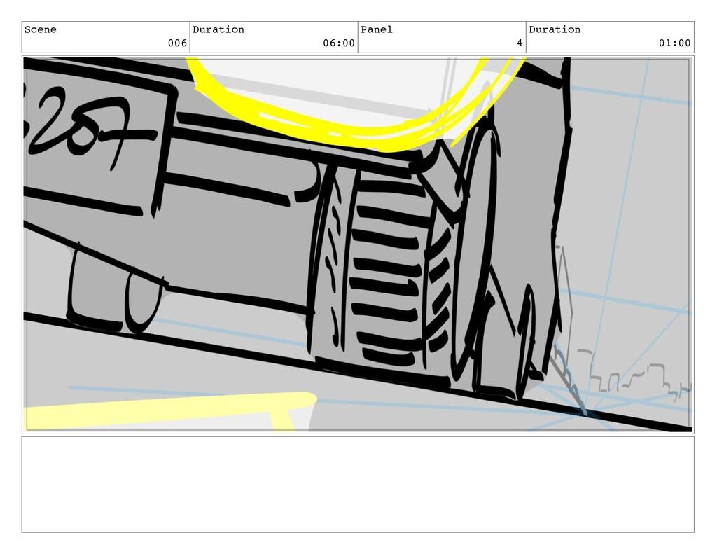 Scene 006 Duration 06:00 Panel 4 Duration 01:00