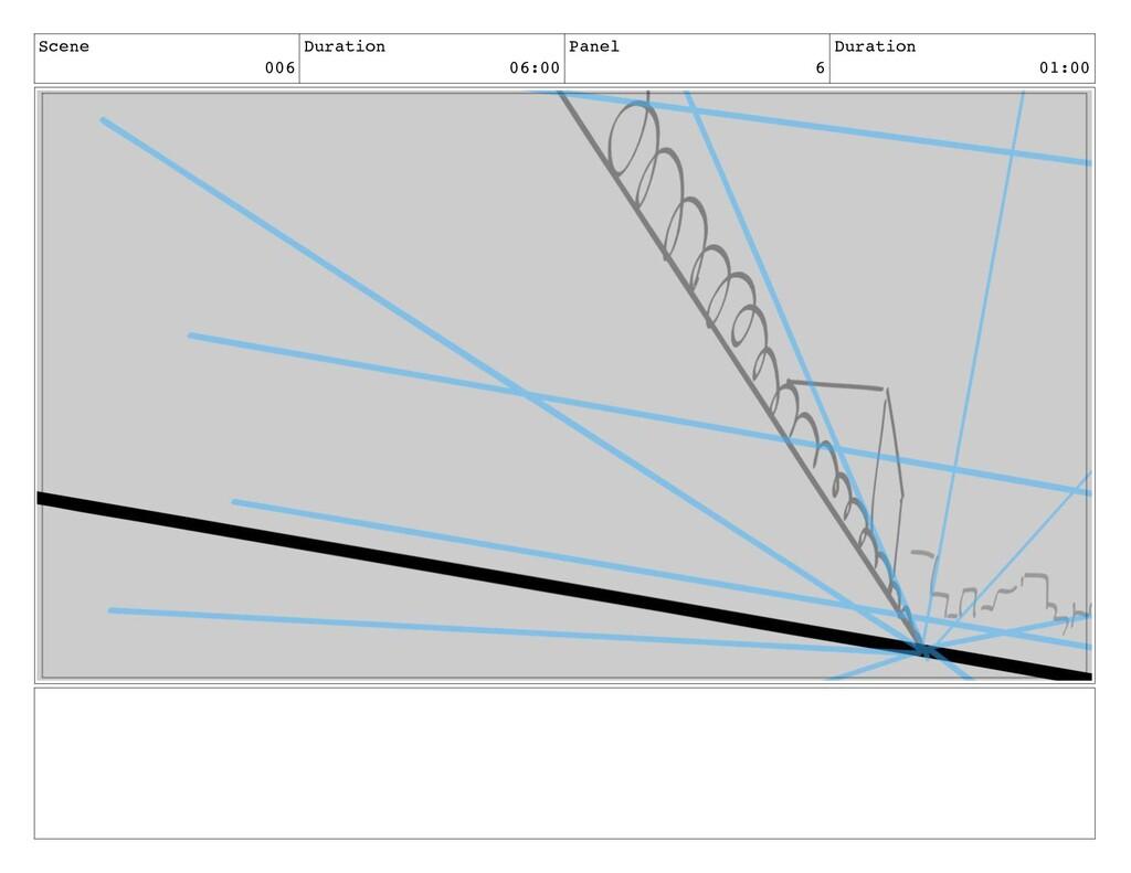 Scene 006 Duration 06:00 Panel 6 Duration 01:00