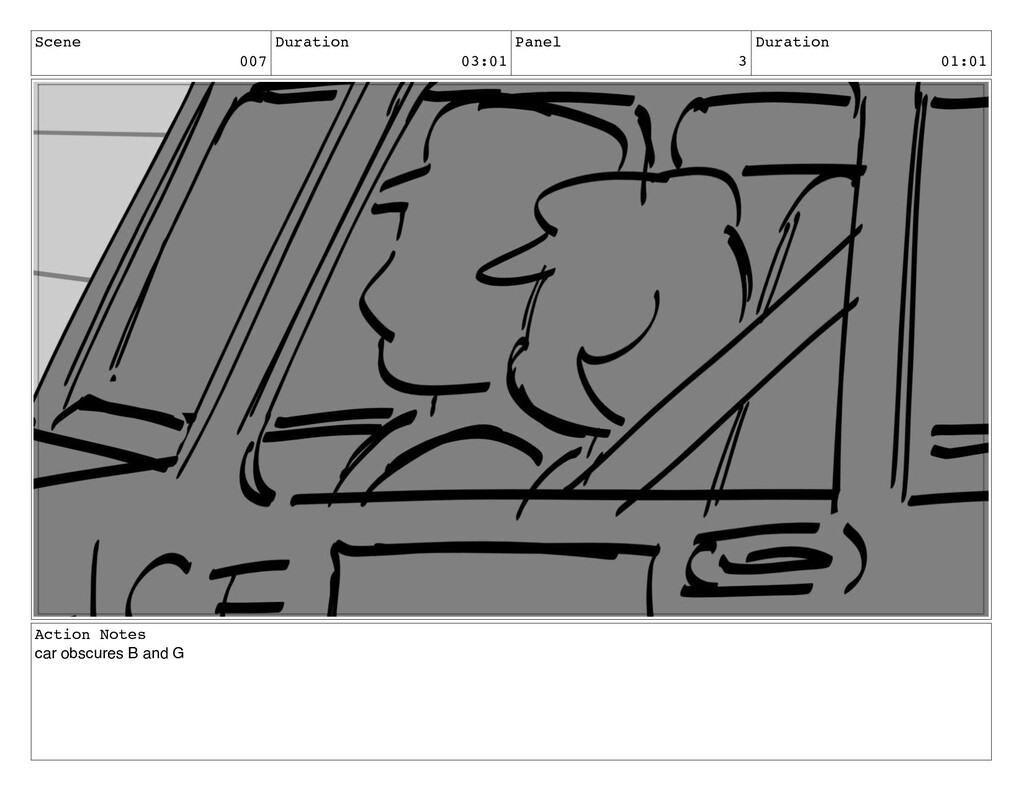Scene 007 Duration 03:01 Panel 3 Duration 01:01...