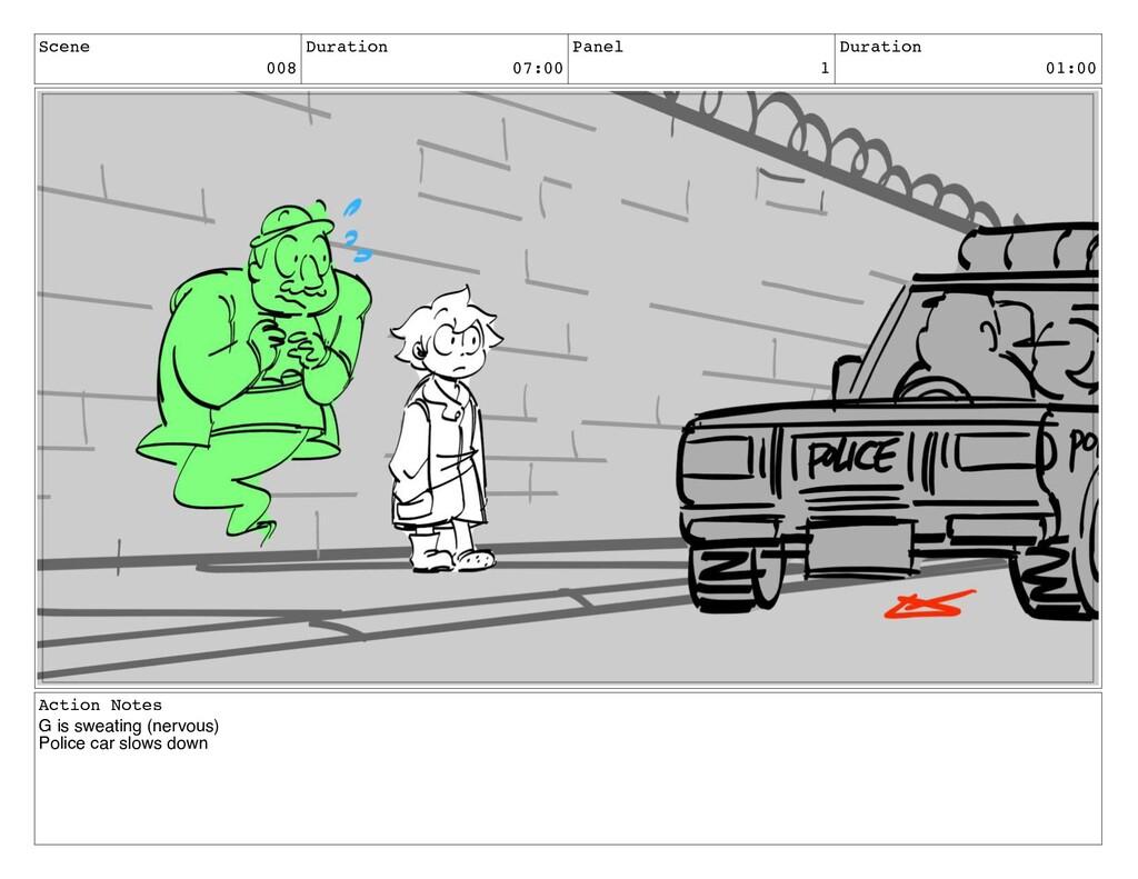 Scene 008 Duration 07:00 Panel 1 Duration 01:00...