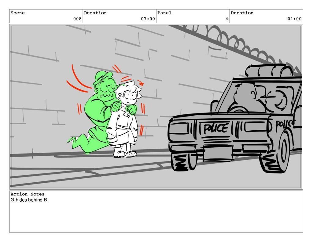 Scene 008 Duration 07:00 Panel 4 Duration 01:00...