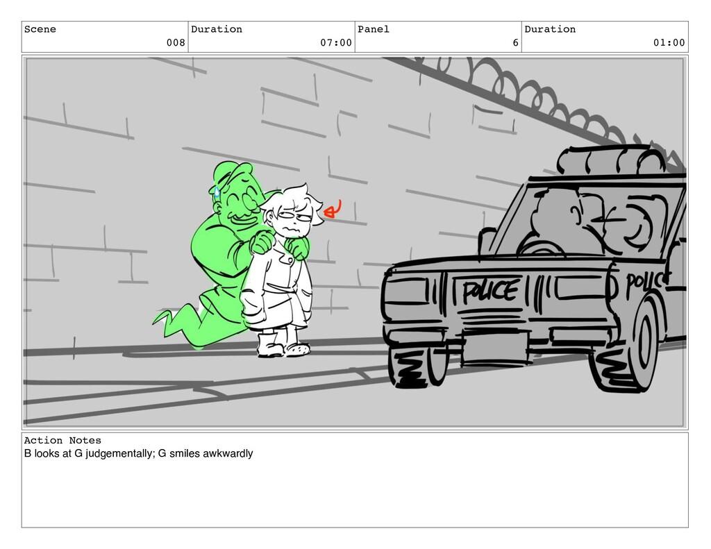 Scene 008 Duration 07:00 Panel 6 Duration 01:00...